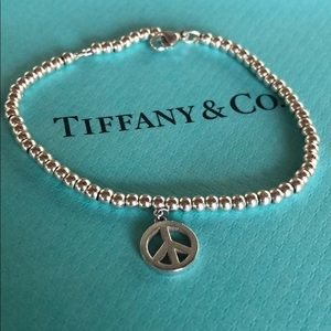 Tiffany & Co. Vintage Peace Sign Bracelet